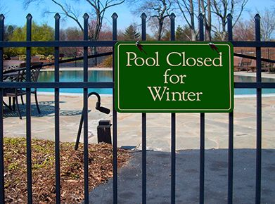 Let Wechsler Pool handle your winter pool closing
