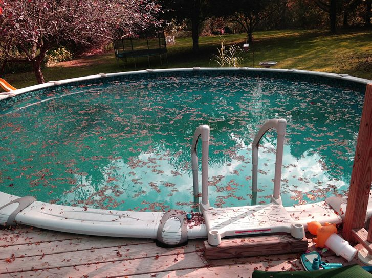 Getting your pool clean after a big storm is important